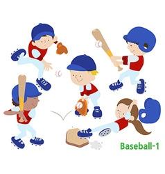 Baseball 1 vector