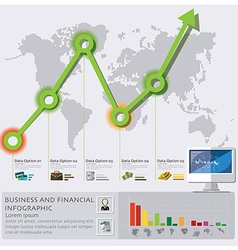 Business And Financial Infographic vector