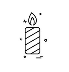christmas icon design vector image
