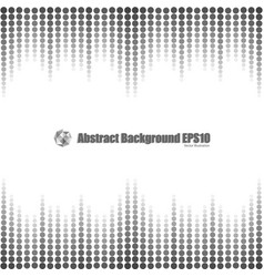 gray gradient dot seamless background vector image