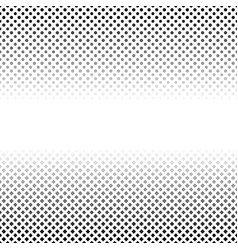 Halftone geometrical circle and square pattern vector
