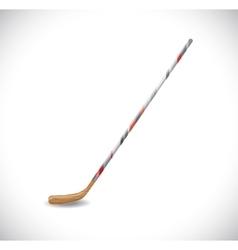 Isolated hockey stick vector image