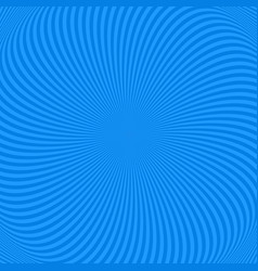 spiral abstract background from rotating rays vector image