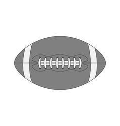 Vintage american Football Ball vector image