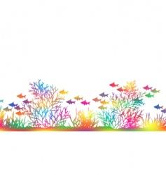 color coral vector image