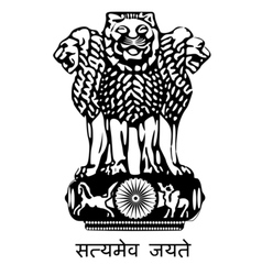 coat of arms of India vector image
