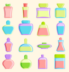 Cosmetics blank package box icon container vector