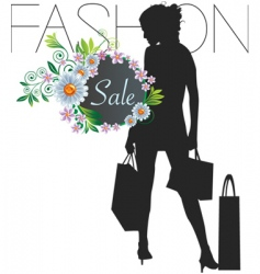 Fashion sale vector