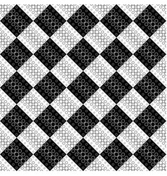 geometrical abstract monochrome ring pattern vector image