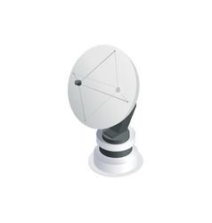 satellite isometric icon vector image