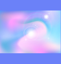 sun light and clounds soft pastel color vector image