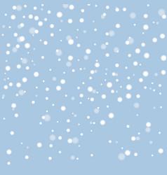 White snow vector