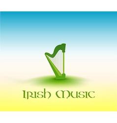 Irish Music vector image vector image