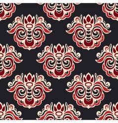 Luxury royal seamless pattern damask vector image vector image