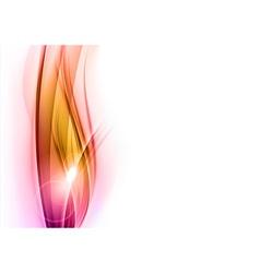 background red wave vhite vertical vector image vector image