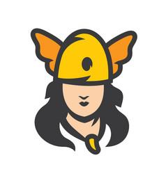 Amazon girl sign vector