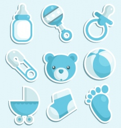 Baboy icons vector