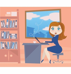 business doll vector image