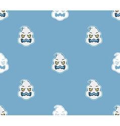 Ghost head pattern vector