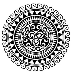 polynesian tattoo design ancient polynesian vector image