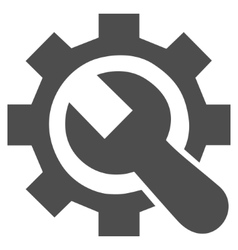 Repair Service Flat Icon vector