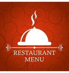 Restaurant cover vector