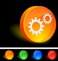 Settings Icon vector image