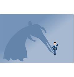 super businessman professional career growth vector image