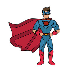 superhero avatar icon image vector image
