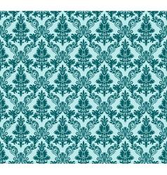 Vintage damask seamless background vector image