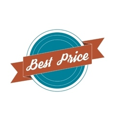 Vintage Label - best Price vector image