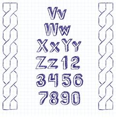 decoration vector image