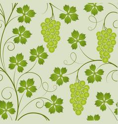seamless vine vector image vector image