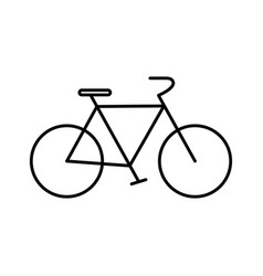 Bicycle icon image vector