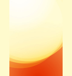 Fire flame on background orange and red color vector