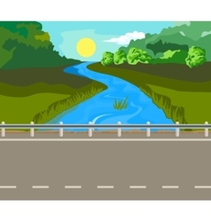 Landscape and travel vector