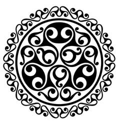 Polynesian tattoo design ancient vector