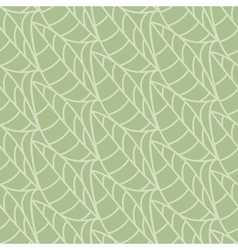 Seamless pattern of leaves background vector image