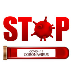Stop coronavirus covid-19 infection 2019-ncov vector