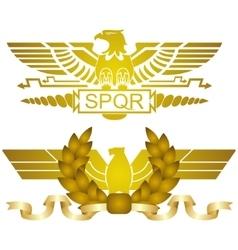 Symbols of Roman legions-2 vector