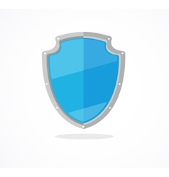 blue shield vector image