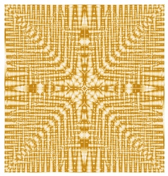 Abstract seamless geometric pattern gold texture vector