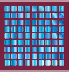 Blue squares collection background texture vector