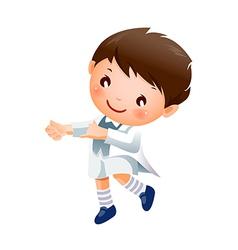 Boy Dancing vector