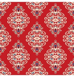 Damask seamless pattern florish vector