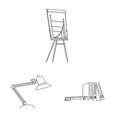 Design of furniture and work logo vector