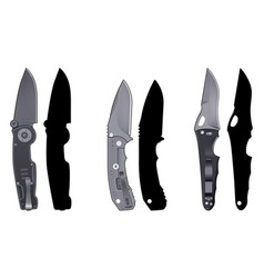 Knives set5 vector
