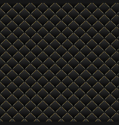 Luxury black background dark geometric squares vector