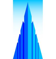 office block vector image