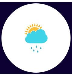 Raindrops computer symbol vector